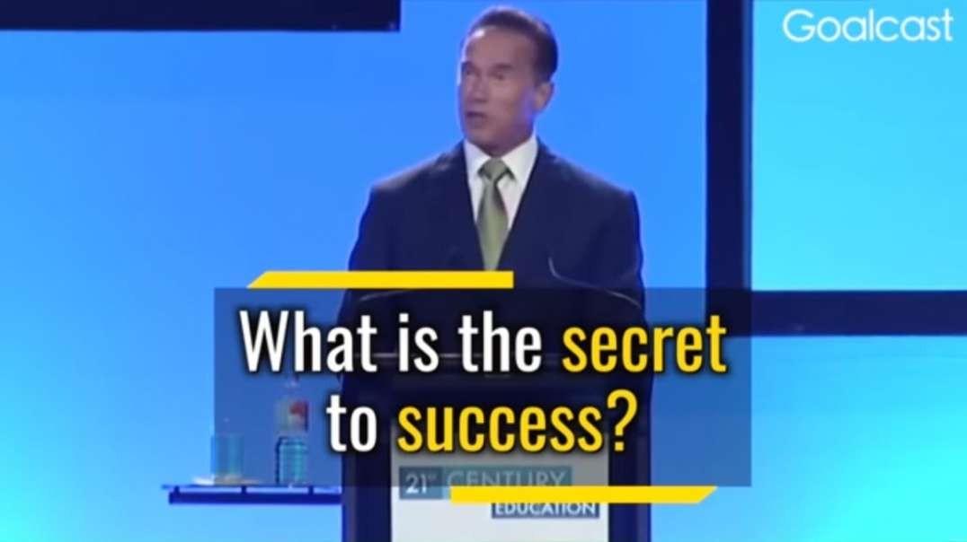 Arnold Schwarzenegger's 5 Rules For Success.