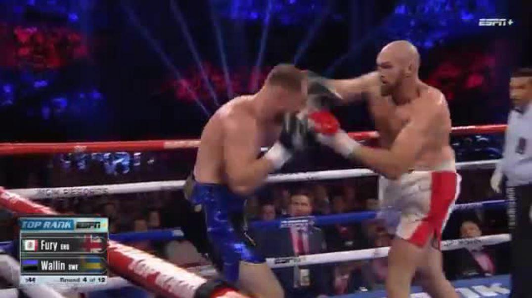 Tyson Fury vs. Otto Wallin - Full Fight Highlights - 2019