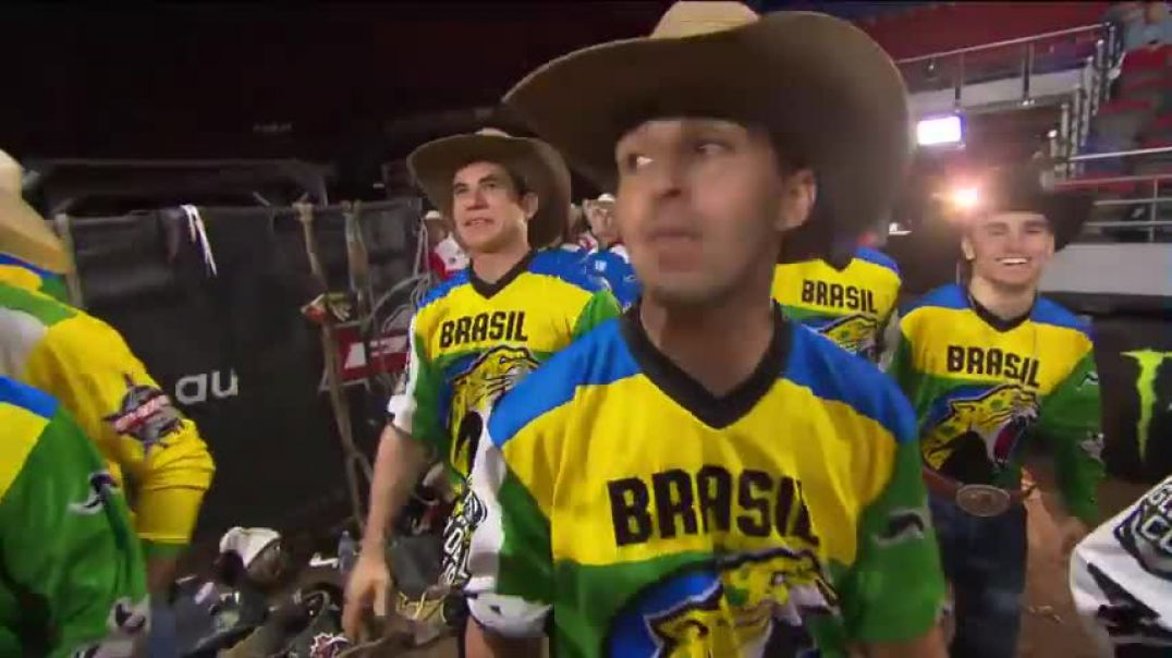 Team Brazil's Victory - 2018 PBR Global Cup Australia.