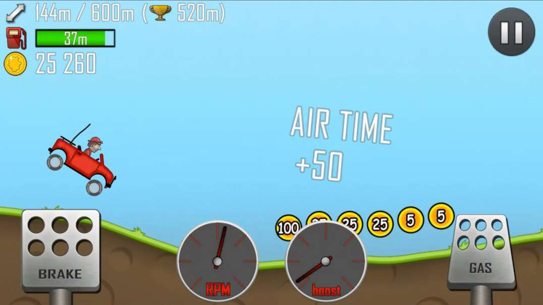 Hill Climb Racing Gameplay 2 (Countryside)