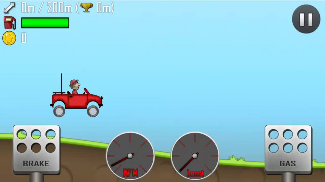 Hill Climb Racing Gameplay 1 (Countryside)