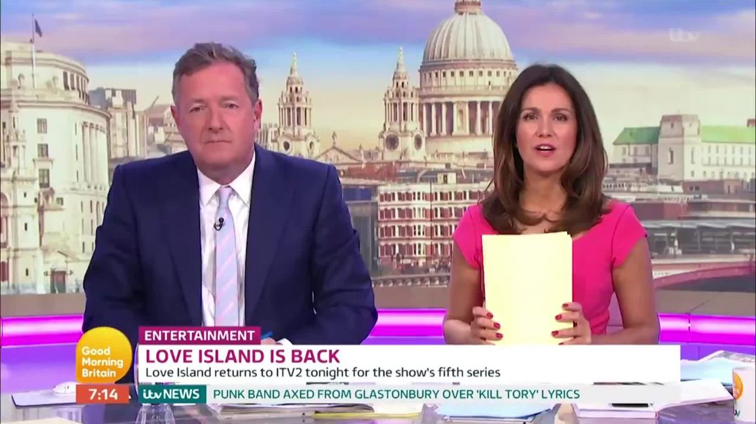 Piers Morgan's Funniest Love Island 2019 Rants