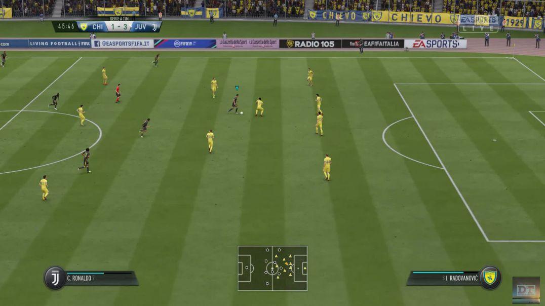 Serie A Round 1 | Chievo Verona VS Juventus | 2nd Half | FIFA 19