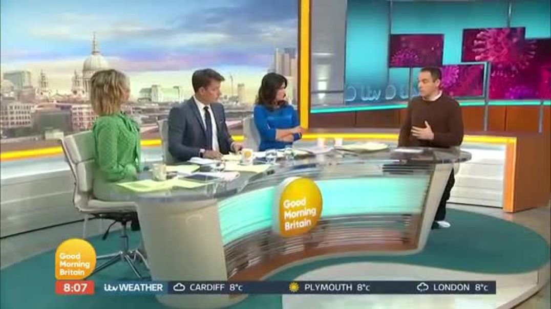 Money Saving Expert Martin Lewis Talks Coronavirus Travel Tips and the Budget _ Good Morning Britain
