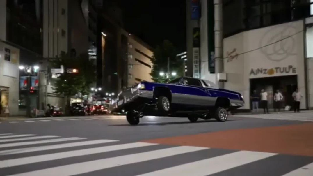 Japan LowRiders Culture On Fire - Two two Steele.