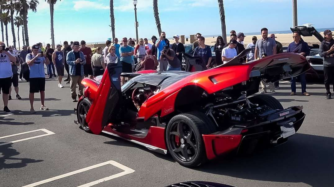 SuperCar Show  With 10 HyperCars: By Effspot.