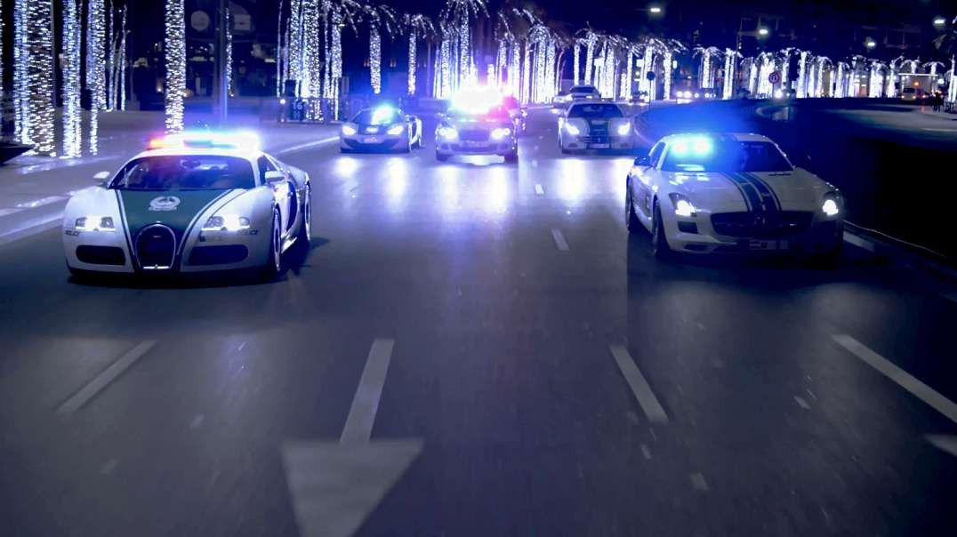 Dubai Police SuperCars - The world's fastest police cars: By Elton Fernandes.