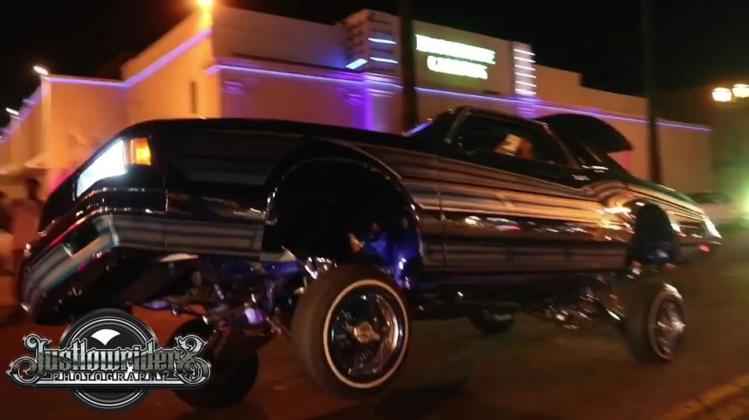 Hollywood Cruise Night -  Justlowriders TV.