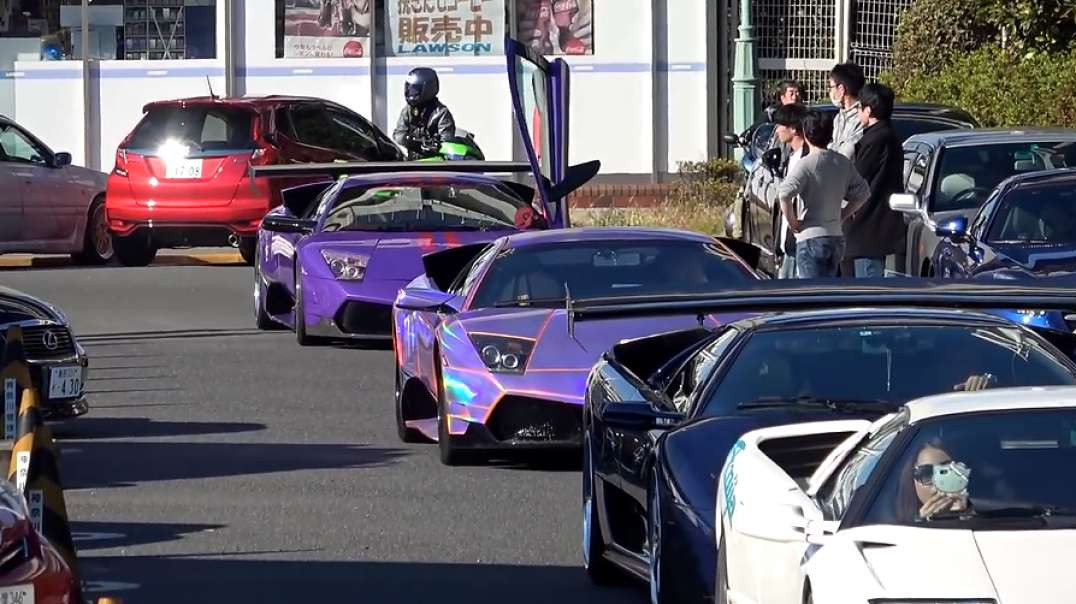 Welcome to Japan's CRAZIEST SuperCar Meet & More: By Effspot.