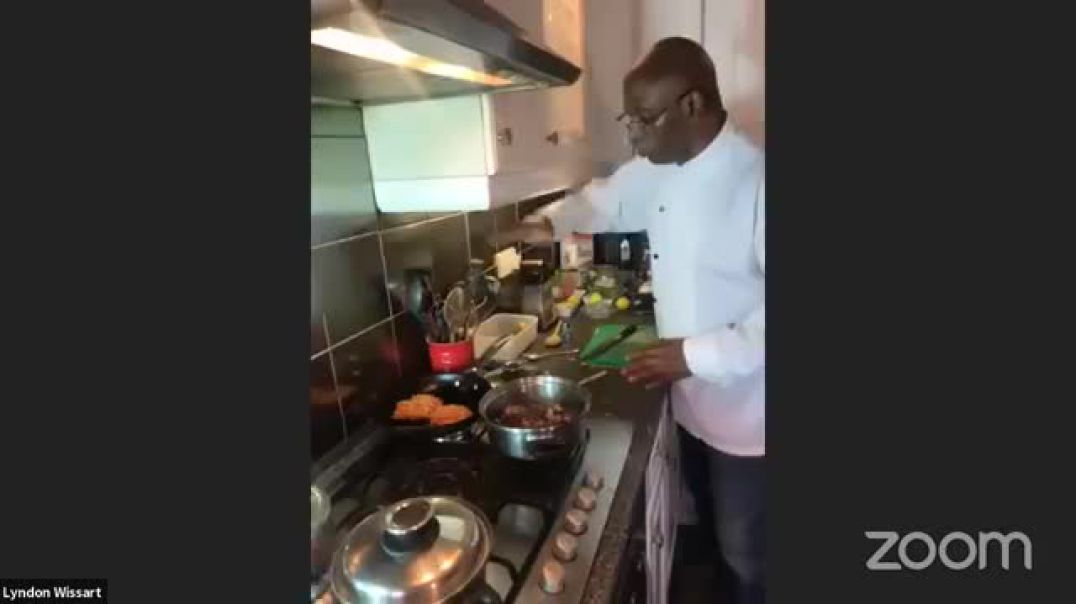 The Inspired Diabetic live cooking