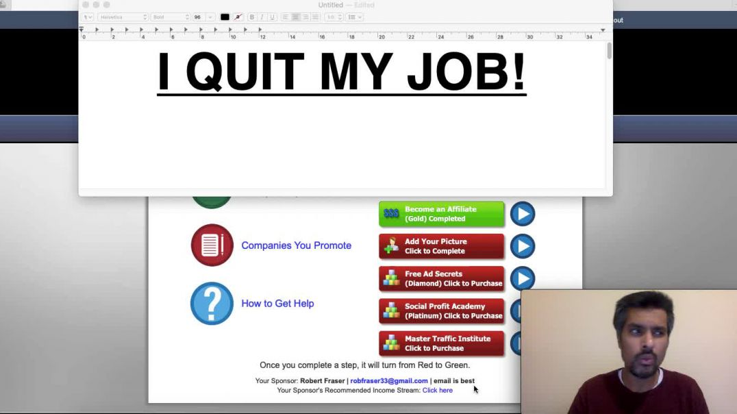 I QUIT MY JOB! WHAT ARE YOU DOING TO ACHIEVE YOUR GOALS?