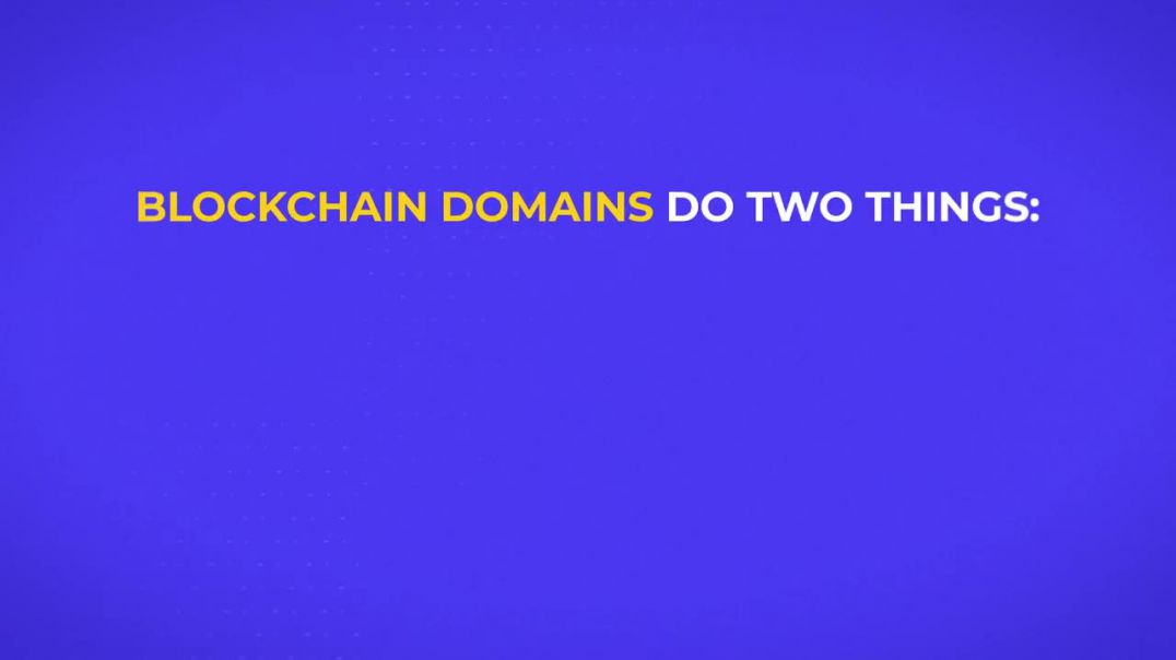 What is a blockchain domain?