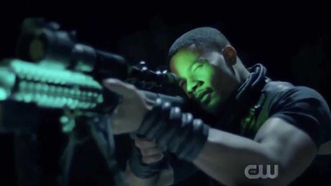 Black Lightning Season 3 Khalil fights Painkiller