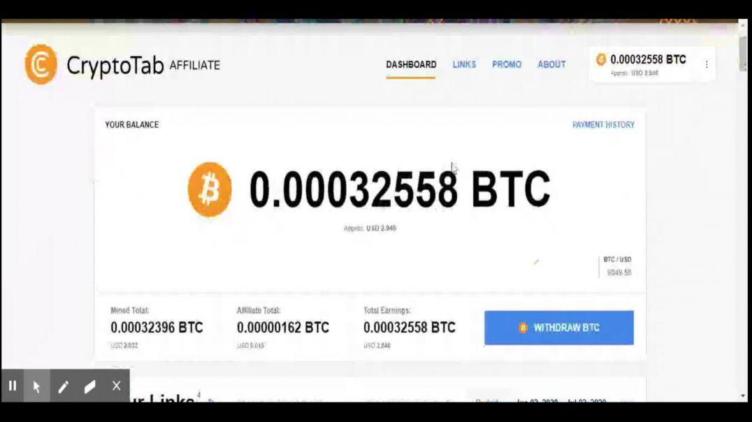 Earn bitcoin by using the browser and mine ur bitcoin free #crypto #EarnBTC