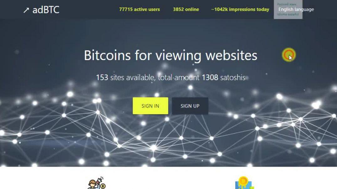 Adbtc | Free Bitcoin Everyday ☆
