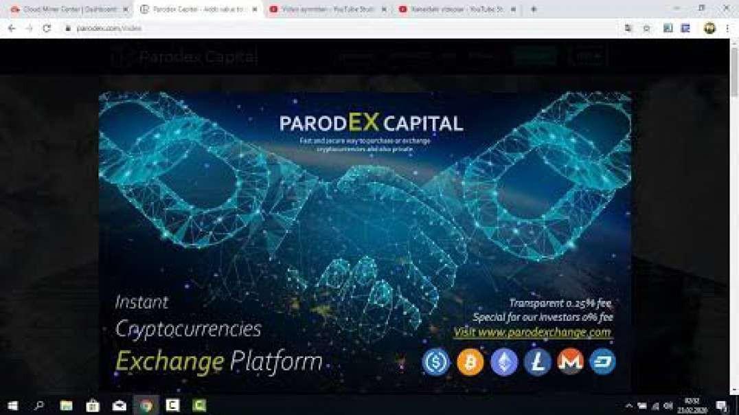 Parodex Capital Inc Review [Monthly Profit Up To 27.3% + 10% R.C.