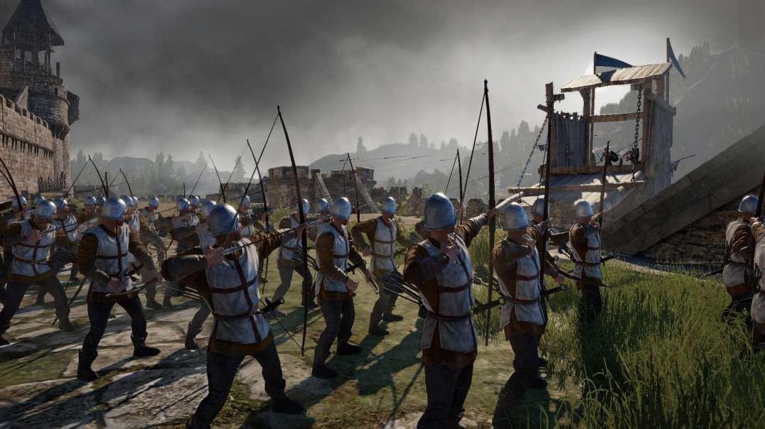 Conqueror's Blade - Siege Battle - Allenburg Defence