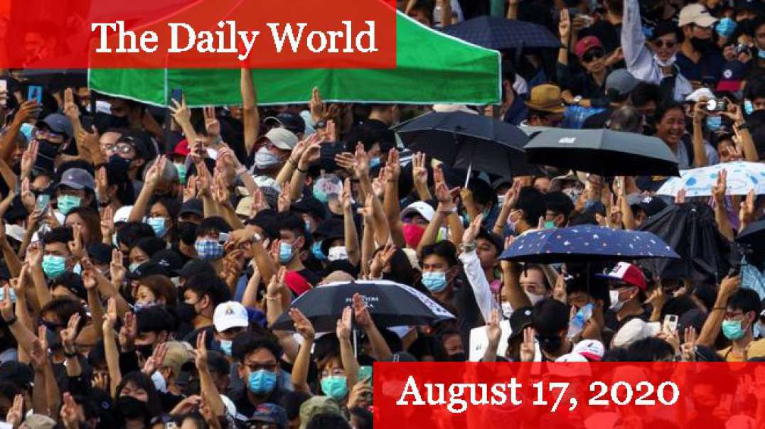 Largest Thai Protest Puts Pressure on Government