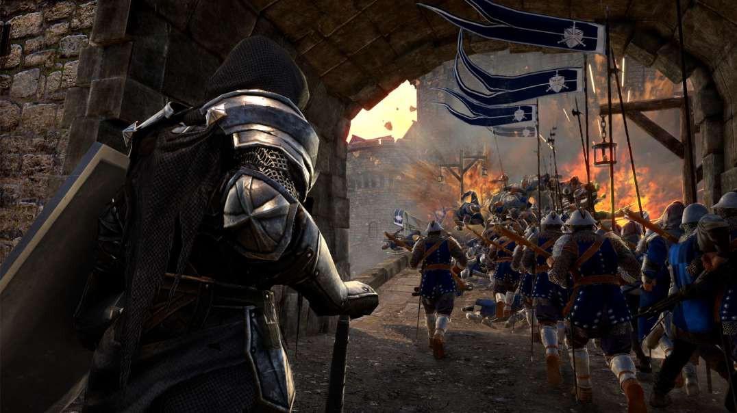 Conqueror's Blade - Siege Battle - Augolia Castle Defence