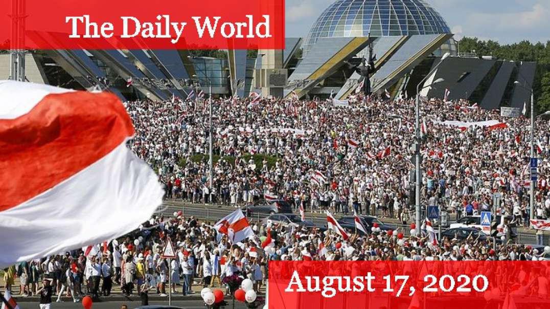 Belarus Continues Major Protests