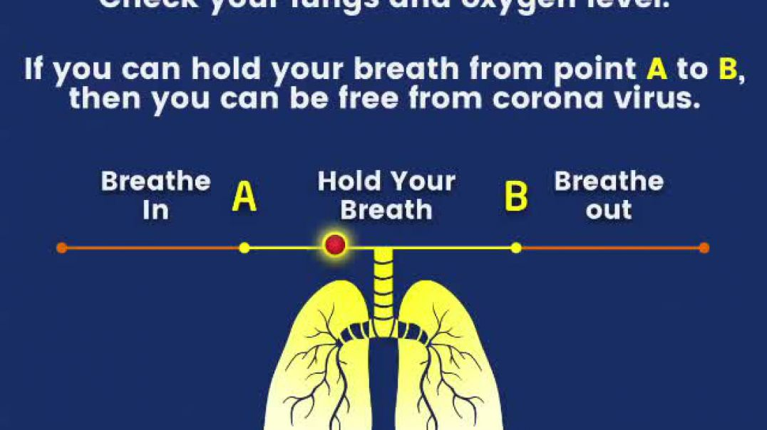 Corona test check your lungs and oxygen level