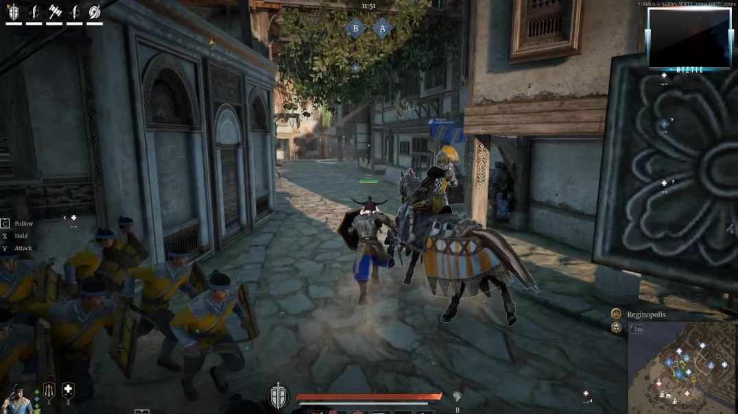 Conqueror's Blade - Siege Battle - Playing on the new siege map, it is EPIC!