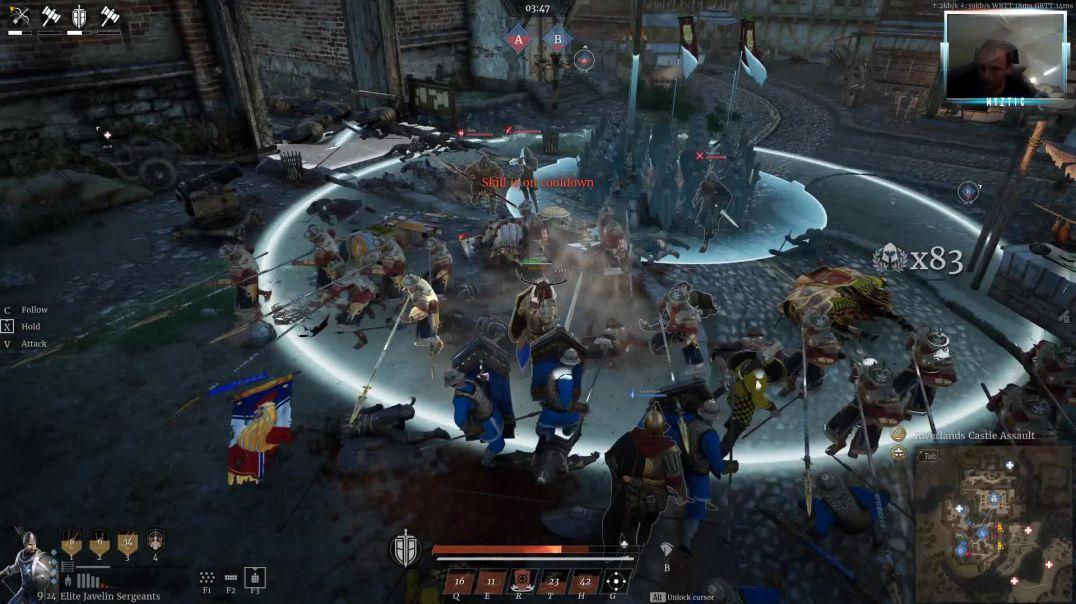 Conqueror's Blade - Siege Battle - Riverlands Castle