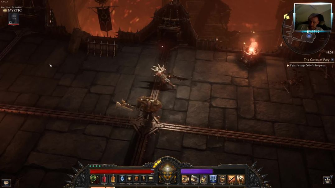 Wolcen Lords of Mayhem - Dangerous farming run together with 1 of the NPC's