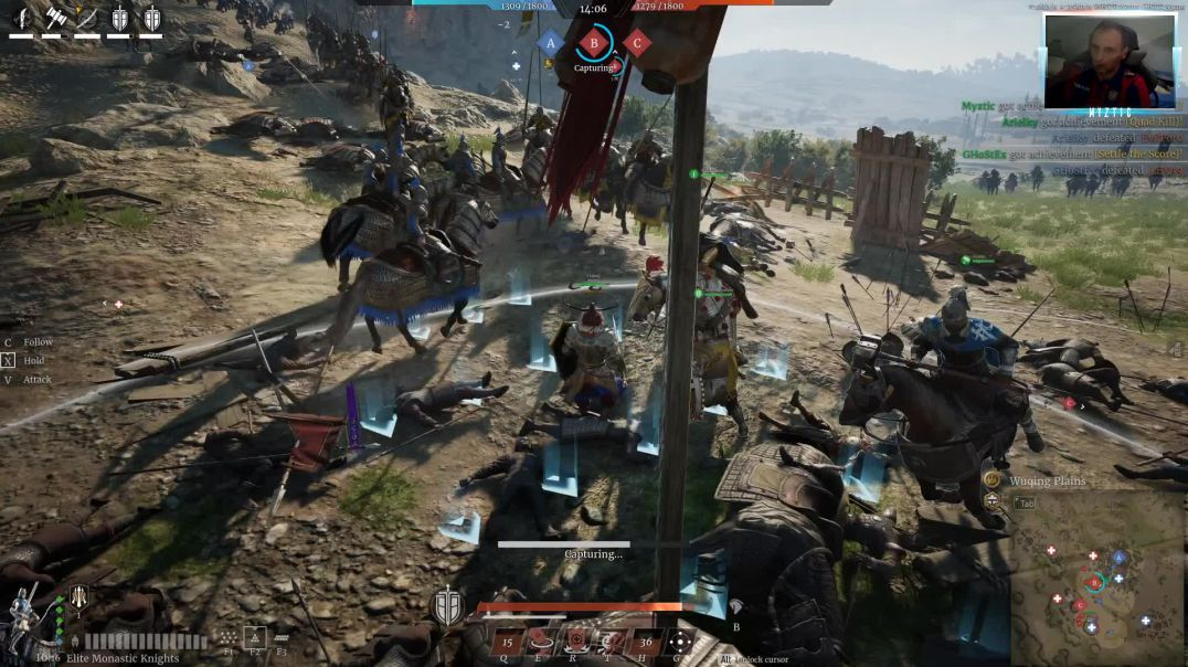 Conqueror's Blade - Field Battle - Dominating the opponent on the Wuqing Planes