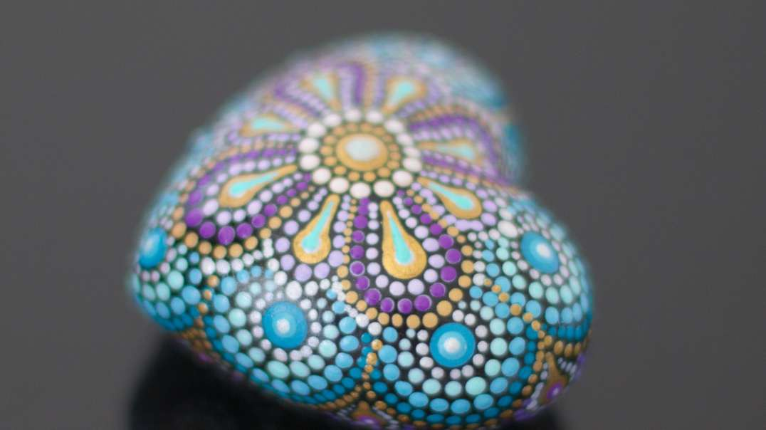 How to paint mandalas on rocks