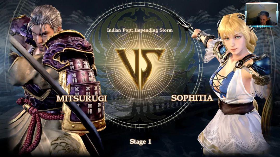 Soul Calibur VI - Mitsurugi Gameplay
