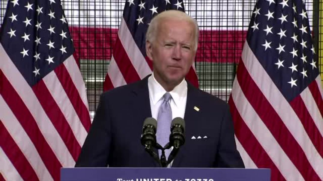 Biden: 'Do you really feel safer under Trump?'