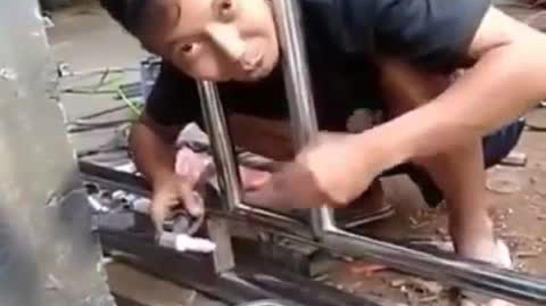 Good position when welding