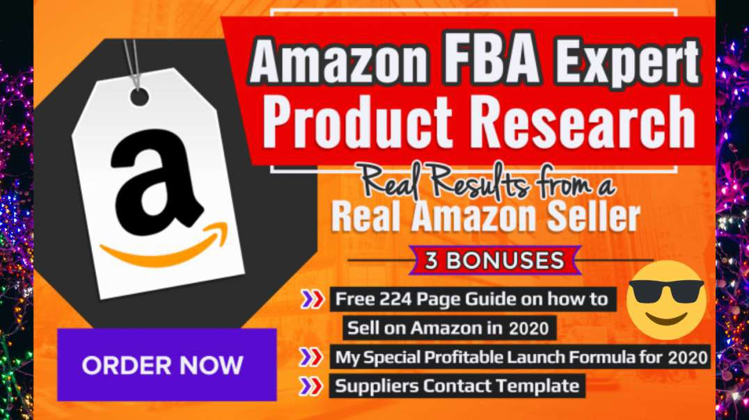 The better way to do amazon product researches for FBA like a Pro!
