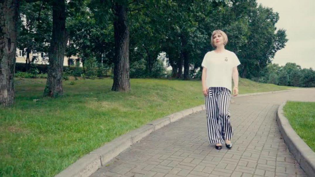 Street Girl Walking Lady