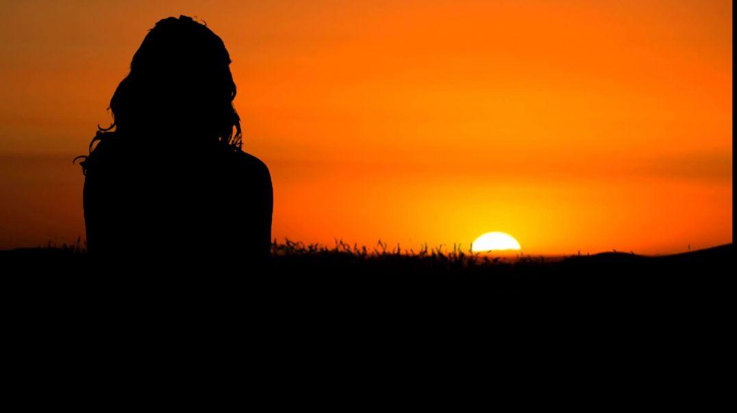 Woman Sunset Nature Sunrise Wind Hair