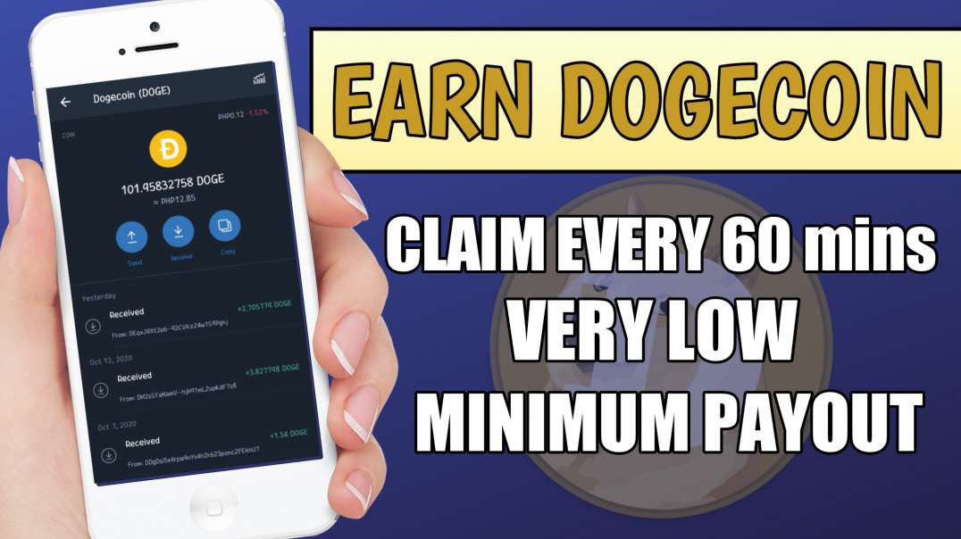 EARN DOGECOIN EVERY 60mins.| VERY LOW MINIMUM PAYOUT| WITH PROOF