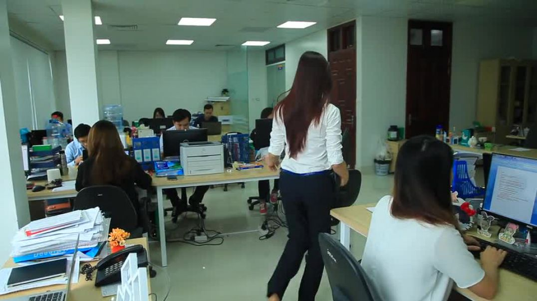 Girl Office W Computer Work Business Laptop