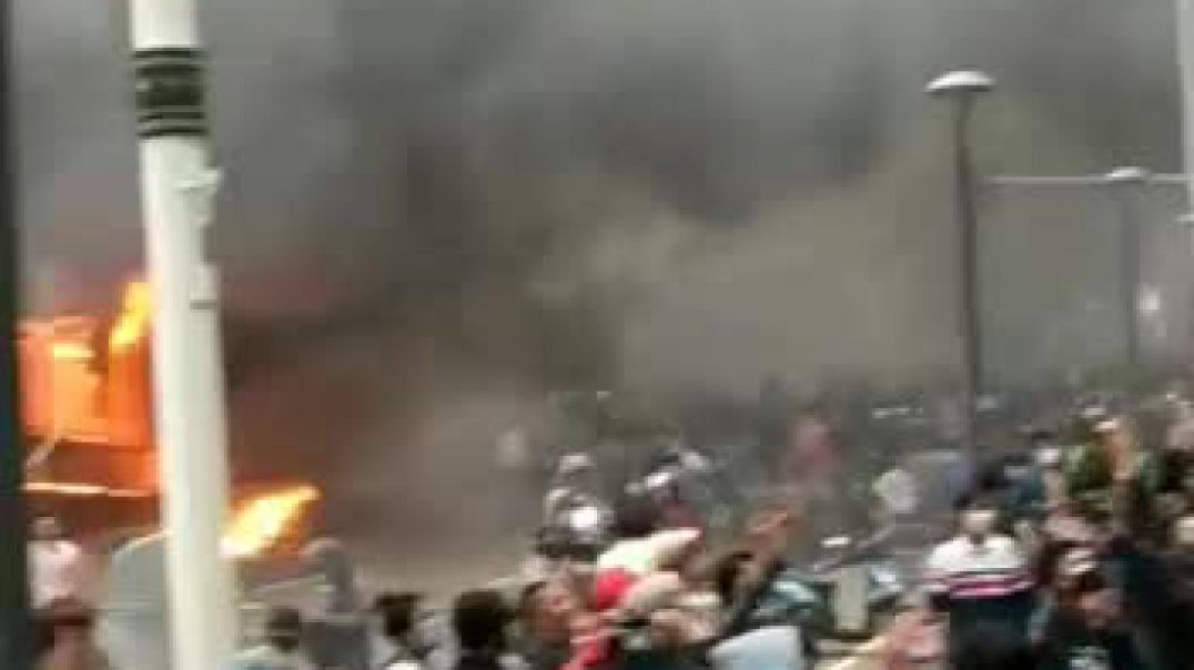 BREAKING NEWS!!! Riots on Streets of Jakarta.
