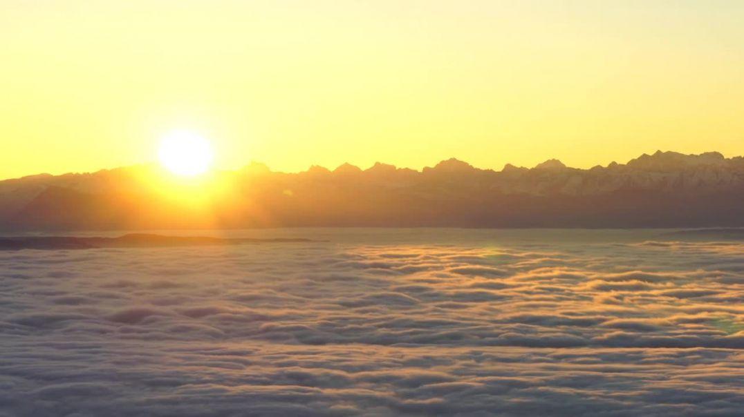 Sunrise Tödi Alpine Mountains Alps Mountain Range