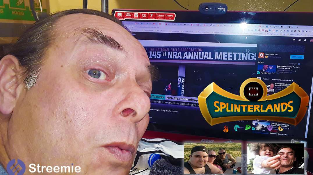 Season End Rewards in @splinterlands!!! The NRA Files Bankruptcy & I begin Creating a Twitch Cha