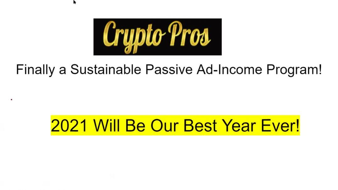 Crypto Pros Passive Income & Advertising Solutions